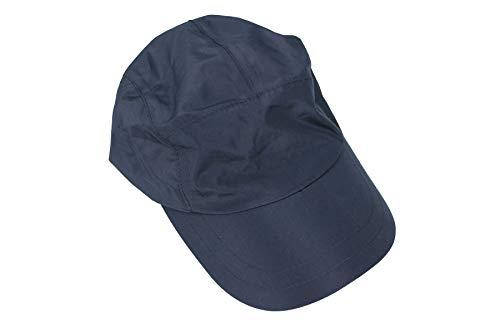 Tchibo TCM Allwettercap Allwetter Kappe Cap Mütze blau Einheitsgröße