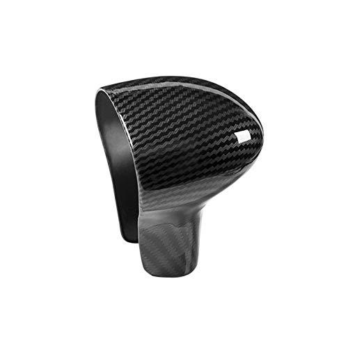 BXSAUISA Accesorios de Coche Interior Ajuste para Audi A4L 13-16 / A5 12-16 / Q5 13-18 / Q7 13-15 A6L 12-15 / A7 S6 S7 Solus Only LHD Fibra DE Carbon ARGANO Manila DE Cubierta DE Cubierta Trim