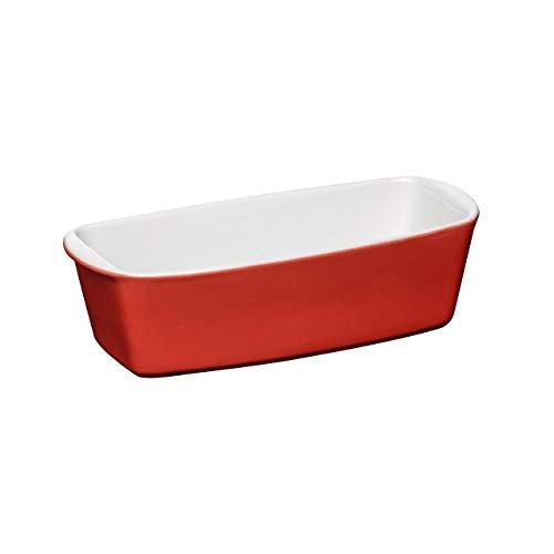 Premier Housewares OvenLove Loaf Dish, Rotes Steingut