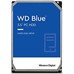 WD WD10EZRZ Blu Hard Disk Desktop da 1 TB, 5400 RPM, SATA 6 GB/s, 64 MB Cache, 3.5 ´´