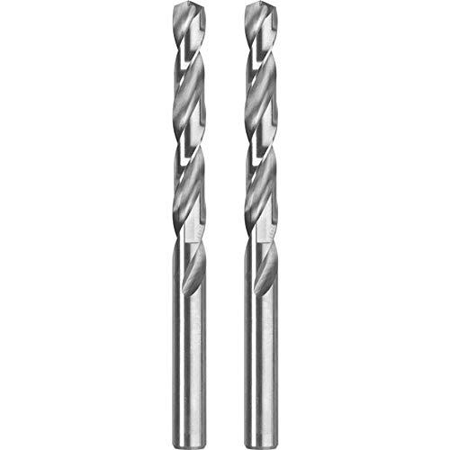 Preisvergleich Produktbild kwb Ø 2, 5 mm Metallbohrer HSS-G Silver Star 2 Stück 206525 (bis zu 40% schneller,  50% geringerer Anpressdruck,  präzisionsgeschliffen,  DIN 338)