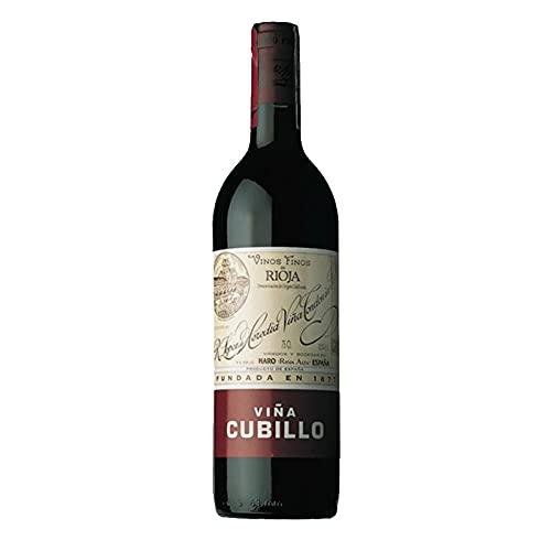 Vino tinto Viña Cubillo Crianza de 75 cl - D.O. La Rioja - Bodegas R.Lopez de Heredia (Pack de 1 botella)