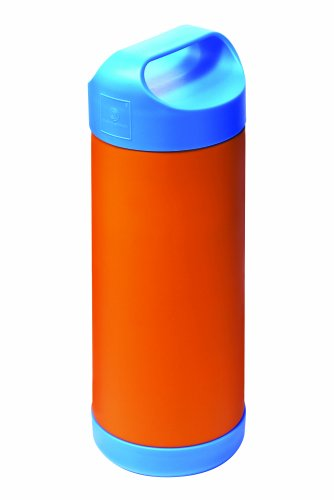 Quaranta Settimane QS0130007 By: Suavinex, Portabiberon Termico - Blu e Arancio