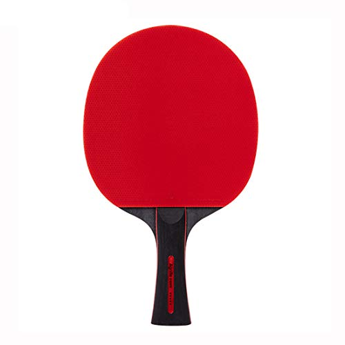 Learn More About RUIXFTA Portable Table Tennis Bat Five-Layer Balls Shake Hands Grips Premium Ping P...
