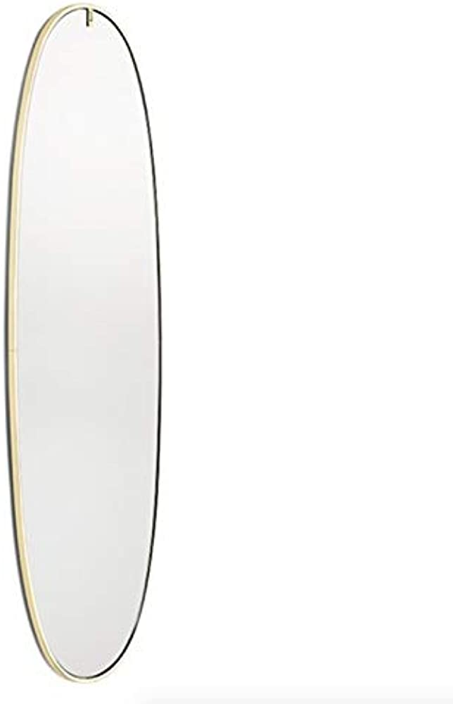 Flos la plus belle, lampada led da parete  a specchio,in alluminio e plastica F3680044