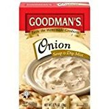Goodman's Onion Soup & Dip Mix KFP 2.75 Oz. Pack Of 3.