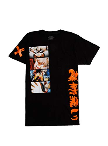 Hot Topic My Hero Academia Bakugo Rage Progression T-Shirt