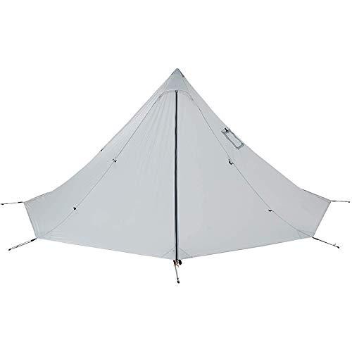 Basage Tienda Piramidal para Acampar Al Aire Libre Tipi de Refugio Ultraligero Grande para Sombra de Sol con Orificio de Tubo de Estufa para Mochilero Senderismo Pesca Playa