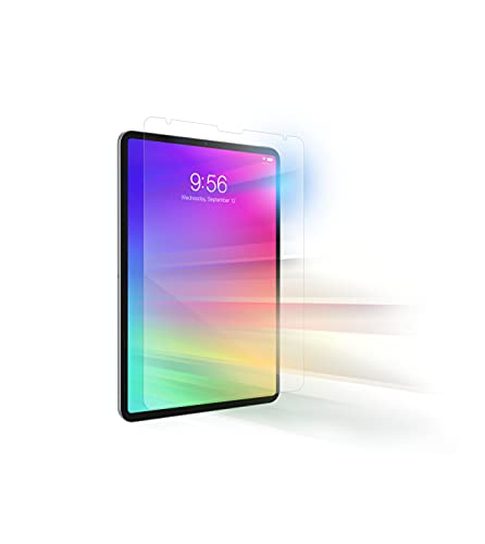 """ZAGG InvisibleShield Glass+ Vision Guard Plus - Blocks Harmful High-Energy Visible (HEV) Blue Light And 99% of UV Light From Your Device - Made For Apple iPad Pro 11"""" (4th, 3rd, 2nd and 1st Gen) and iPad Air (4th Gen)"""
