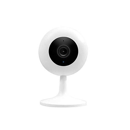 Cámara Domo Inteligente Xiaobai IMILab 1080P HD, Interior H265 Visión Nocturna HDR Cámara de Seguridad WiFi de detección dinámica AI Amplia (017)
