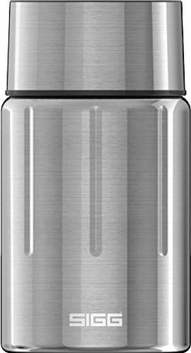 SIGG Gemstone Food Jar Selenite (0.75 L), récipient alimentaire isotherme, lunch box isotherme pour l'école ou le bureau, boîte en acier inoxydable 18/8 de haute qualité