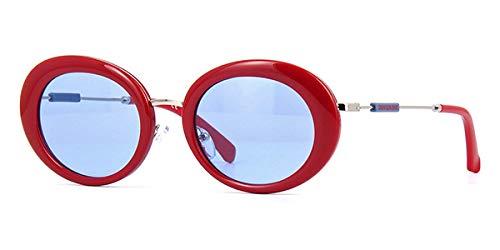 Calvin Klein Jeans CKJ18701S - Gafas de Sol de Color Rojo, Unisex, para Adulto, Multicolor, estándar