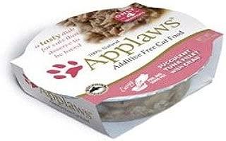 Applaws Succulent Tuna Fillet with Crab Cat Food Cups, 100% Natural, 18 x 2.12 oz