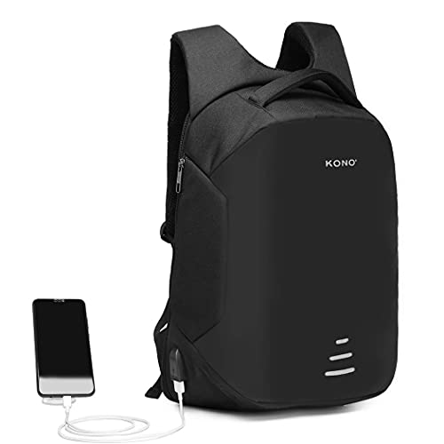 Kono Travel Laptop Backpack,Business Anti-Theft Work Computer Rucksack with USB Charging...