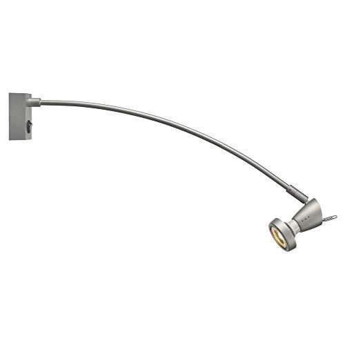 SLV FILI Display-Lampe Aluminium/Messing Silber Display-Lampen, Messe-Lampe