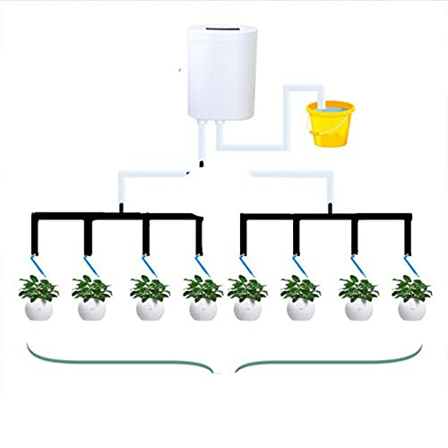BSDIHRIWEJFHSIE 8 Controlador de riego automático Sistema de riego por Goteo Planta Auto Kit de Agua para Suministro de jardín Suministros de riego de jardín-ESPAÑA, 03