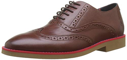 El Ganso, Zapatos de cordones oxford para Hombre, Marrón (Marrón 0004), 39 EU