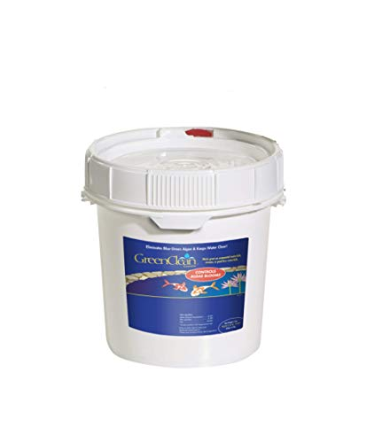 GreenClean Granular Algaecide - 8 lbs (Case of 2) - String Algae Control for Koi Pond, Fountain, Waterfall, Water Features on Contact. EPA Registered. Safe for Fish, Plants, Pets and Wildlife.