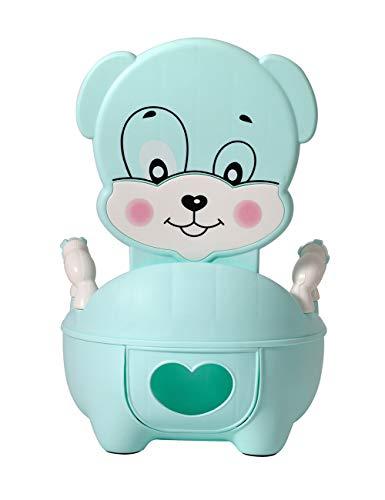 Glenmore Vasino Bambini Vasetto WC Bambina Vater Bimbi Morbido Imbottito Blu