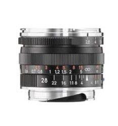 Carl Zeiss 1365-657 - Objetivo telemétrico para Montura Leica M Biogon T 2,8/28 ZM, Color Negro