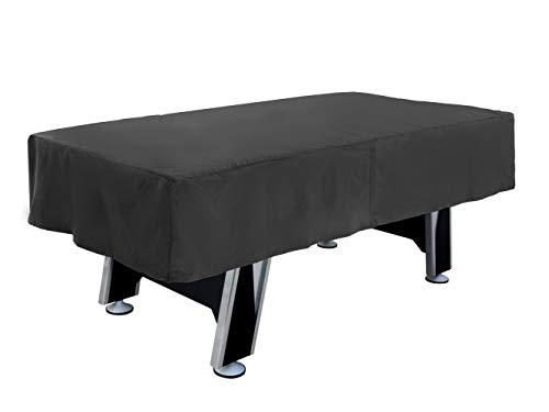 Covermates – 7 Foot Air Hockey Table Cover – 84W x 44D x 15H – Classic Collection – 2 YR Warranty – Year Around Protection - Black