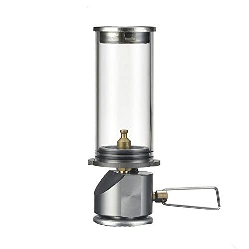 XWF lámparas de Queroseno Iluminación para Acampar portátil al Aire Libre, Luces de Camping Luces de Vapor Luces de Tiendas de campaña linternas de Gas Luces de Vela Lámpara de Aceite Antigua