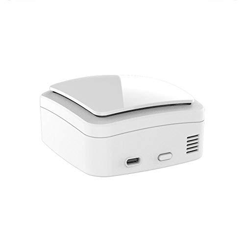 Caja de desinfección ultravioleta Ozono Desinfectar purificador de aire para coche casero Mini ionizador de aire activo Filtro de aire compacto recargable