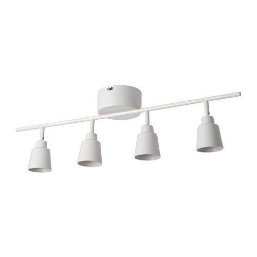 IKEA(イケア) KNUTBO シーリングスポットライト 4スポット, ホワイト (70312890) (703.128.90)