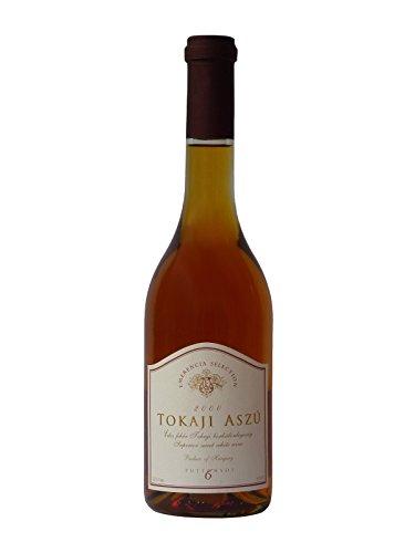 Tokaji Aszu 6 Puttonyos - Emerencia Selection - Jahrgang 2000, Dessertwein aus Ungarn, Weißwein, Süß, Tokajer Aszú