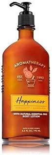 Bath & Body Works Aromatherapy Happiness Bergamot and Mandarin Body Lotion  6.5 fl oz