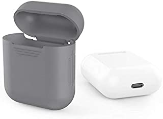 Apple AirPods Cover with Headphone Cord - charcoal grey