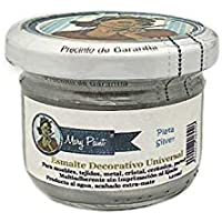 Mary Paint | Pintura para muebles efecto Chalk Paint, Plata Metalizado - 140ml