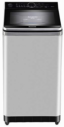 Panasonic 7.2 kg Built-in Heater Fully-Automatic Top Loading Washing Machine (NA-F72V8LRB,Silver,Advanced Active Foam Wash) Gentle Hand Wash and White Course