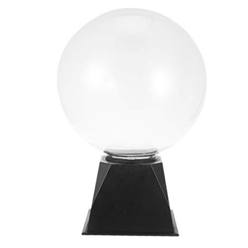 OSALADI 8 Pulgadas Bola de Plasma Táctil Sonido Sensible Globo de Plasma Eléctrico Nebulosa Iluminación STEM Juguetes para Fiestas Decoraciones