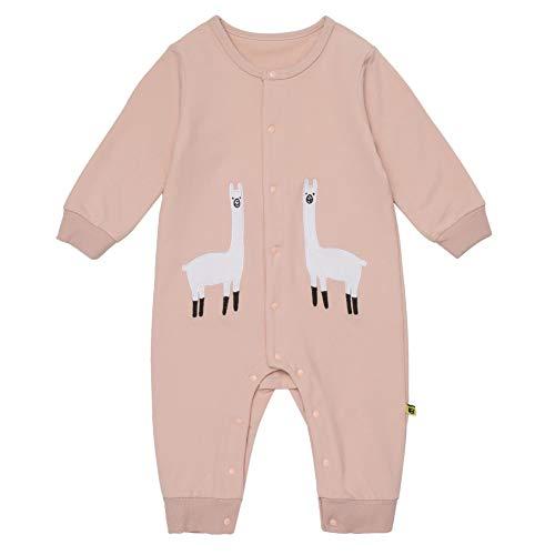 Product Image of the Teeker Unisex Baby Jumpsuit Cotton Onesies Baby Romper Long Sleeve Bodysuit...