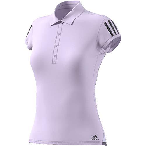 adidas Damen Club 3STR Tennis Polo lila M