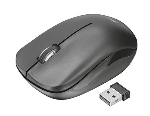 Trust Nova Wireless Tastatur und Maus Set (QWERTZ - Deutsches Tastaturlayout) schwarz