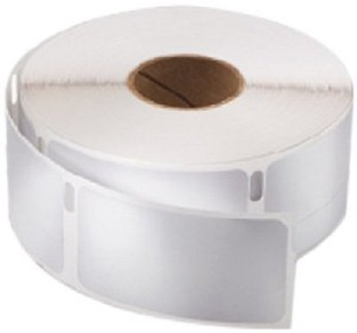 2 Rolls of White 1'x1-1/2' Dymo Compatible 30347 Book Spine LabelWriter 750 Labels P/R 400 450 Twin Turbo Duo