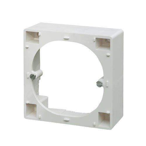 Kathrein ESZ 50 Aufputz-Rahmen für Antennen-Steckdosen, 1 Stück Aufputz-Rahmen
