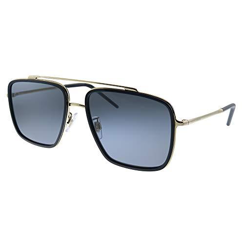 Dolce & Gabbana 0DG2220 Gafas de sol, Gold/Black, 57 para Hombre