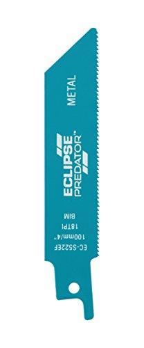 Eclipse ec-s522ef Lames HCS pour scie Alternative, Bleu, 10 x 1.9 x 0.19 cm