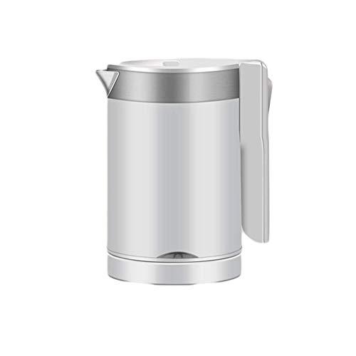 WHLMYH Hervidor de Agua Mini Hervidor de Agua de Doble Voltaje de Viaje 0.6L, Hervidor de Agua de Modo de Ebullición Rápido Hervidor de Agua Portátil para Acampar Eléctrico [Clase Energética a +++]