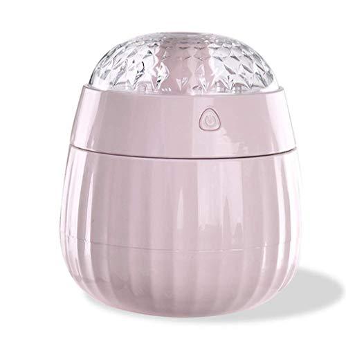 Humidificador silencioso, difusor de Aceite de Cereal, humidificador ultrasónico, difusor del Aroma de la lámpara LED Que Cambia de Color, purificador de Aire automático sin Agua