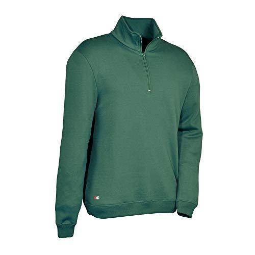 COFRA V217-0-07A.Z/5 ARSENAL Sweatshirt with Reißverschluss, Grün, Größe 5