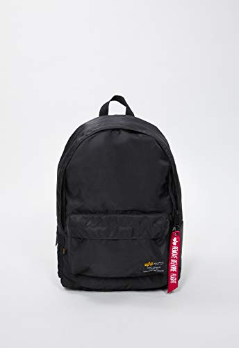 Alpha Industries Unisex Backpack Crew, Farbe:Black