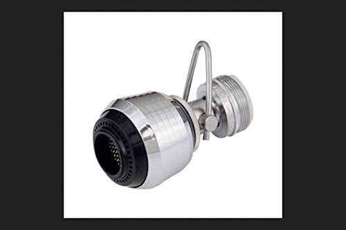 Whedon SuperSpray Dual Swivel Spray Aerator 15/16. X 27 in. x 55/64 X 27 in. Chrome Plated