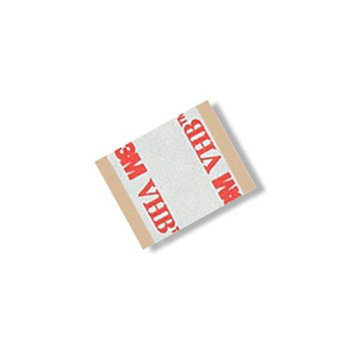 TapeCase RP16 0,75 inch x 0,75 inch 5 VHB RP16 0,75 inch vierkant plakband, 16 mm (0,4 mm) dik (5 ruiten/pak) (5 stuks)