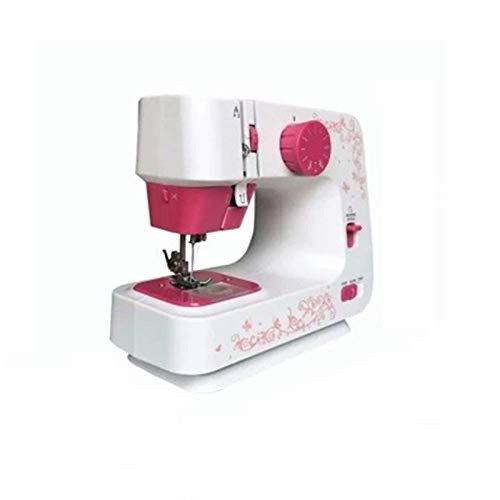 Máquina de coser, con la tabla de extensiones Portátiles actualizados 12 puntadas incorporadas Dos hilos Doble velocidad Doble interruptores Doble Niños Principiantes Viajes Máquina de coser automátic