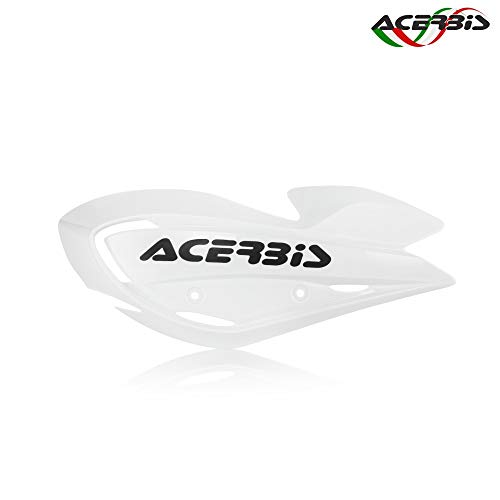 Acerbis 0010884.030 Single ATV Plastic Hand Guard Refills White