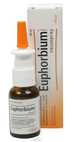 Euphorbium homöopathisches Nasenspray von Heel Für Rhinitis, Sinusitis, verstopfte Nase, 20 ml.